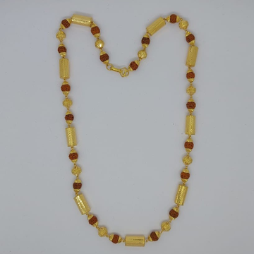 916 Gold Fancy Gent's Rudraksh Mala
