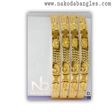 916 Gold Khilla Bangles NB - 1383