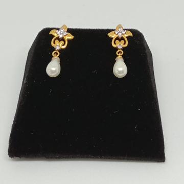 916 Gold Fancy Earring For Women MJ-E008