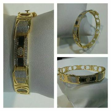 22k Exclusive Fancy Gold Bracelet G-3410