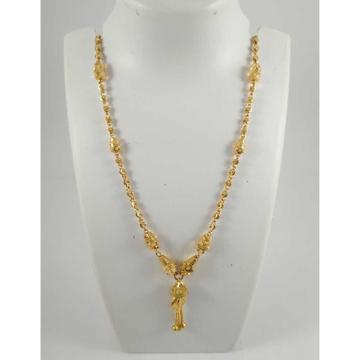 22 K Gold Pendant Chain NJ-P0114