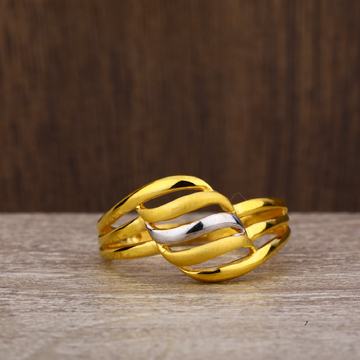 916 Gold Fancy Plain Ring LPR228