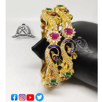 22 carat gold ladies bangles RH-LB069