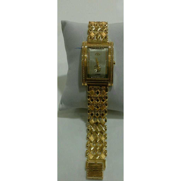 916 Gents Fancy Gold Watch G-1005