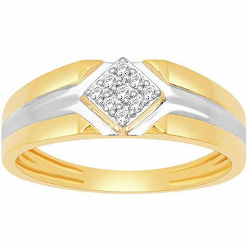 18k gold real diamond ring mga - rdr0036