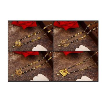 916 Gold antic Mangalsutra RH-M03