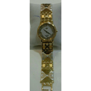 22k Gents Fancy Gold Watch G-1004