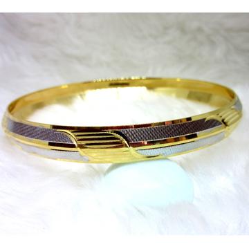 Gold casting designrt modern fancy men bangle