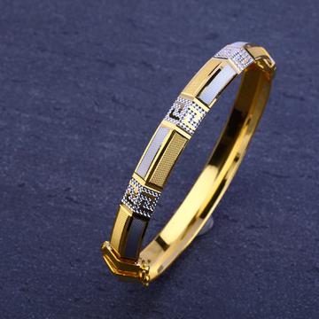 916 Gold swastik design Kada MPLKB09
