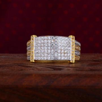 916 Gold CZ Ring