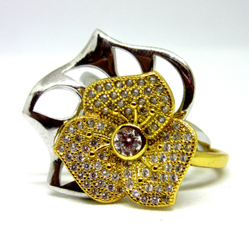 2 in 1 amazing flower designer silver 925 ring
