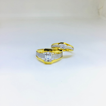 DESIGNING FANCY GOLD COUPLE RINGS by