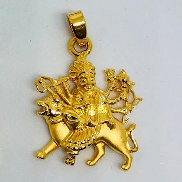 916 Gold Ambe Maa Pendant KD-P002