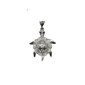 925 sterling silver tortoise pendant mga - pds0028