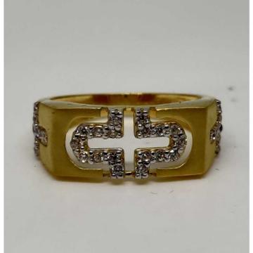916 Gents Fancy Gold Ring Gr-28596