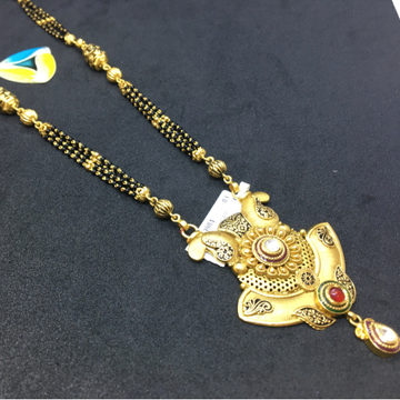 22kt heavy piece of antique mangalsutra