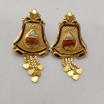 22KT Gold Plain Tops lMJ-844 by Lalit Manohar Jewellers