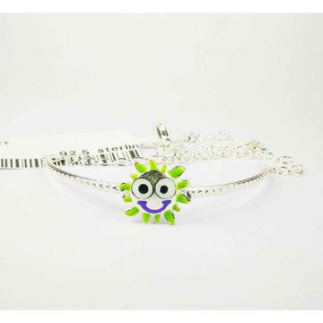 925 Silver Baby Bracelet With Beatiful Sun Shape