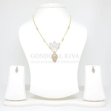 18kt gold pendant set gchp14 - gft28