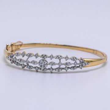 18K gold diamond bracelet agj-br-63