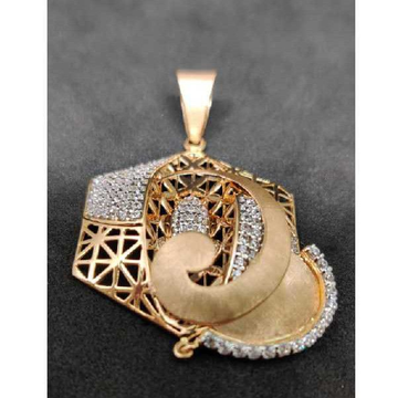 18K Exclusive Ladies Pendant Set P-41520