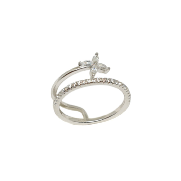925 Sterling Silver Modern Ring MGA - LRS3490