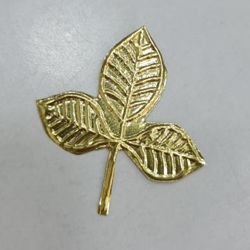 Gold billpatra by Sangam Jewellers
