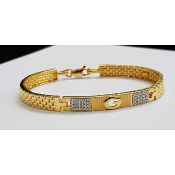 22k Gents Fancy Gold Kada G-3426