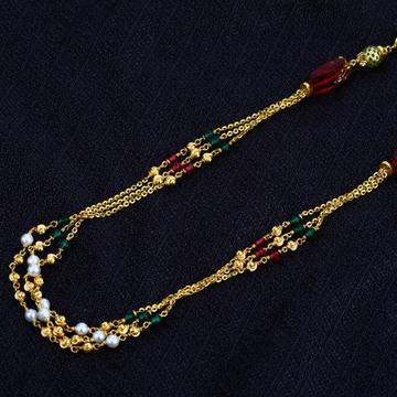 Ladies Gold Chain Mala-AC27