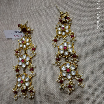 Kundan earring p 125