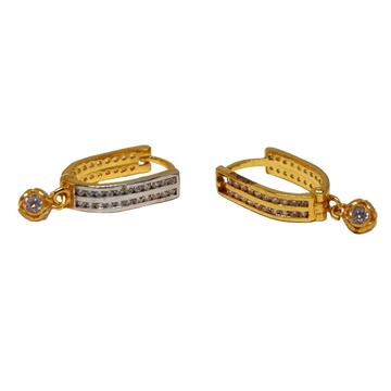 18K Gold Fancy Earrings MGA - BLG0617