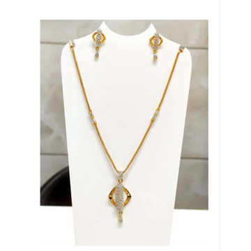 22 K Gold Fancy Pendant Set. NJ-P0762