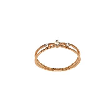 18K Rose Gold Modern Ring MGA - LRG1106