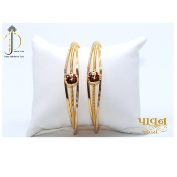 22KT / 916 Gold casual ware fancy Bangle For Ladie... by