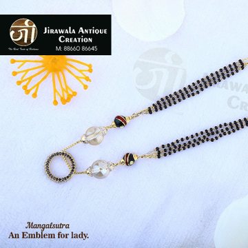Antique gold Ethnic mangalsutra