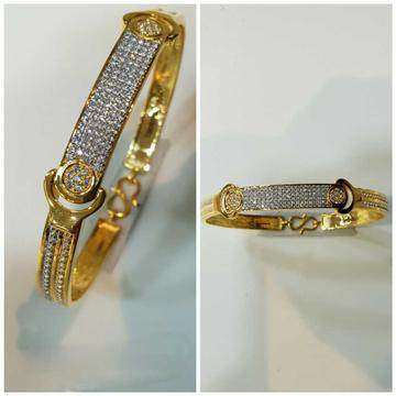 22k Fancy Gold Diamond Bracelet G-3424