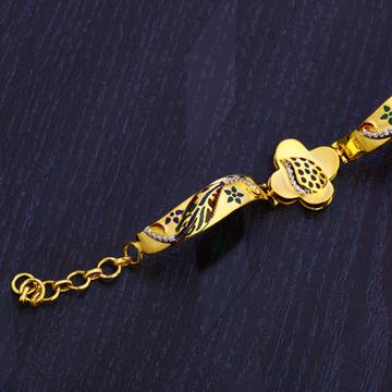916 Gold Exclusive Ladies Hallmark Bracelet LB276