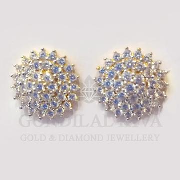 18kt gold earring gft143 by