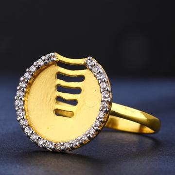 916 Gold Ladies cLASSIC  Hallmark Ring LR725