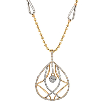 Invidebit Diamond Pendant in Rose gold 8SHP35