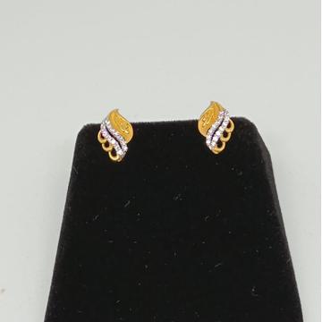 22KT Gold Designer Earring MJ-E016