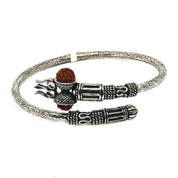 925 Sterling Silver Bahubali Rudraksh Bracelet MGA - BRS0364