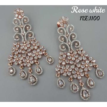 Beautiful Cz Diamond Earrings#1049