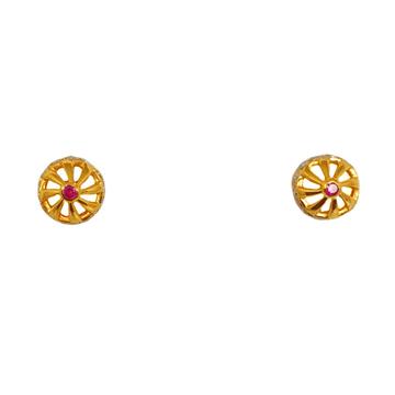 22K Gold Diamond Tops MGA - BTG0462