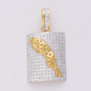 22kt Gold Fancy Machine cut Pendant