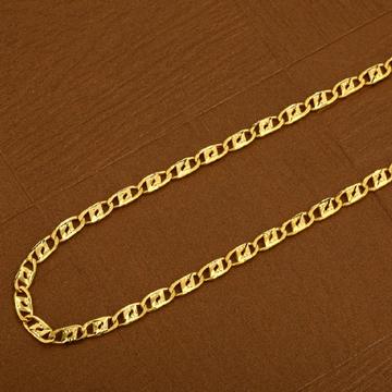 Mens Nawabi 22K Gold Chain-MNC05