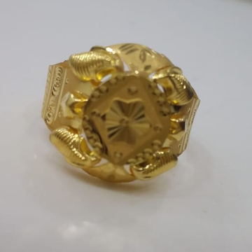 22 kt 916 gold light weight ring by