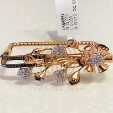 New latest Square Italian Kada by Gold & Silver Palace