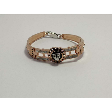 92.5 Sterling Silver Rose Gold Wedding Kada Ms-3891