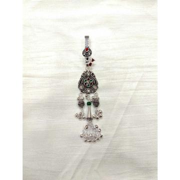 Antique Oxodize Casting Bajna(Bolti) Ghughru Pipe Single Aakda Juda Ms-2525